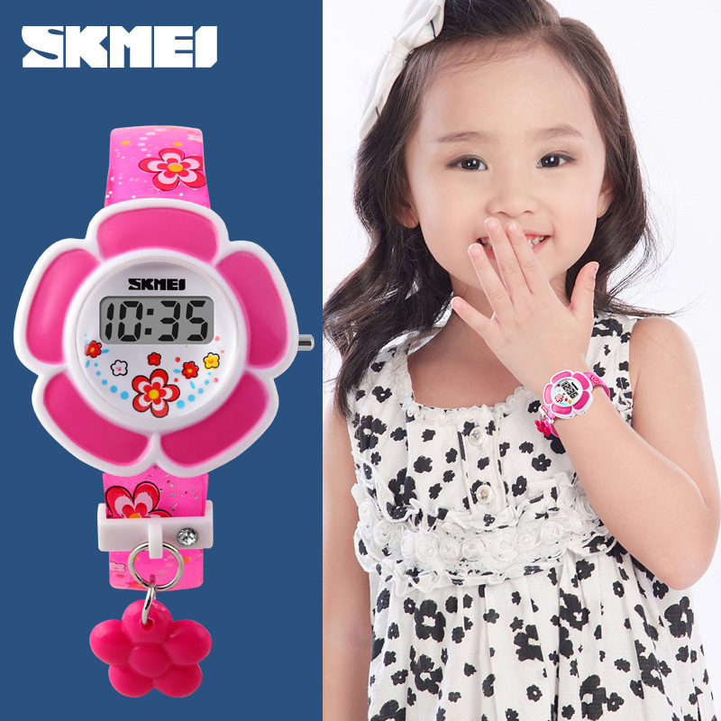 flowers digital watches for kids