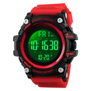 digital sports wrist watch
