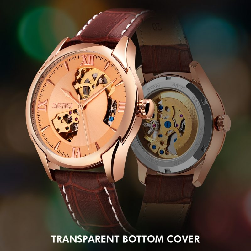 Mens automatic watch  custom Mechanical Watch luxury brand