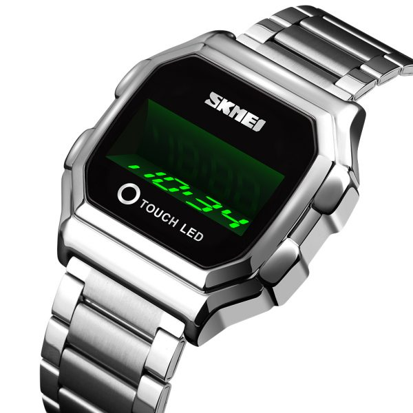 touch LED watch