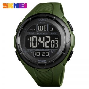 LCD dual time Watch